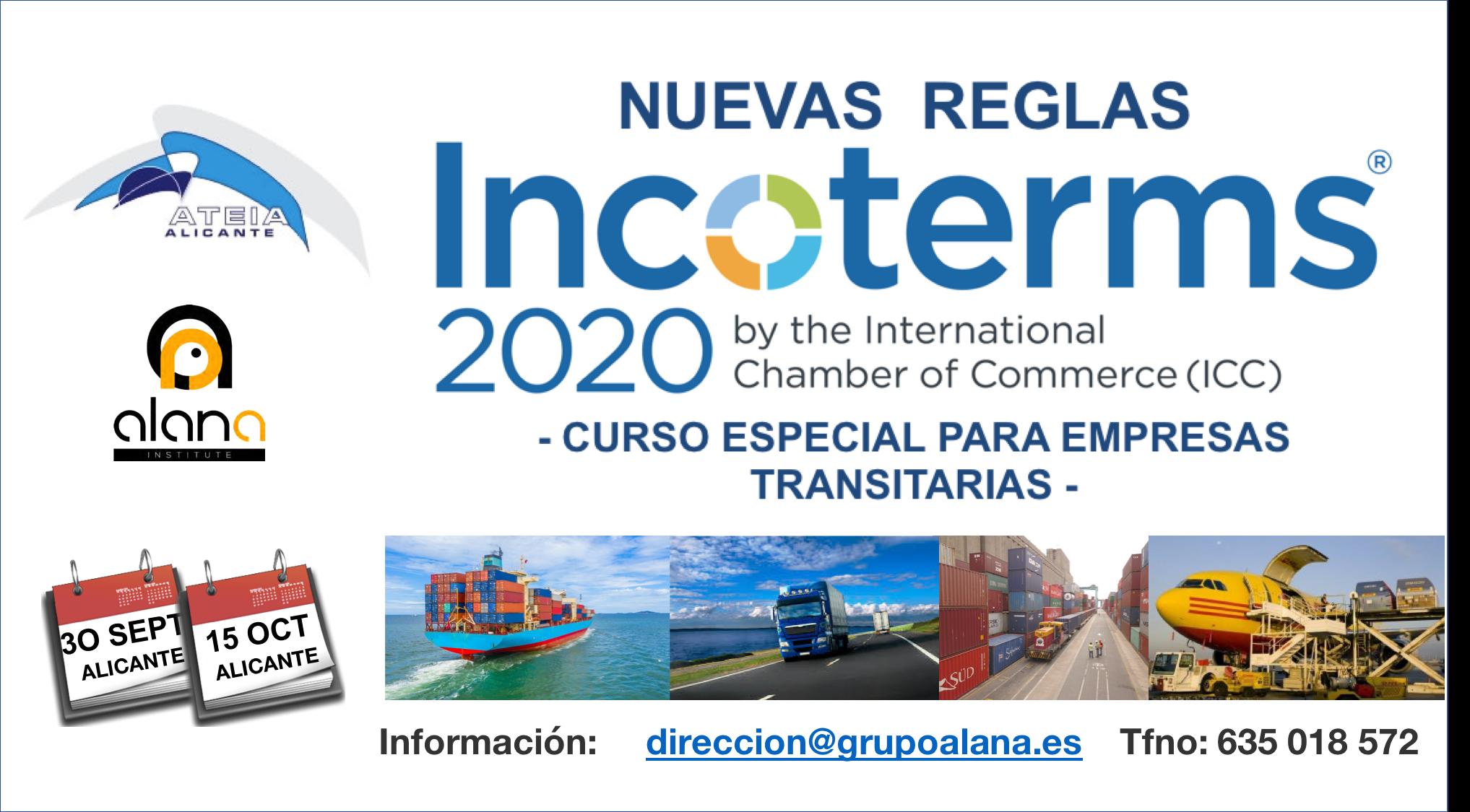 CURSO ESPECIAL INCOTERMS 2020 TRANSITARIOS