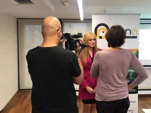 Reportaje en Canal 8tv