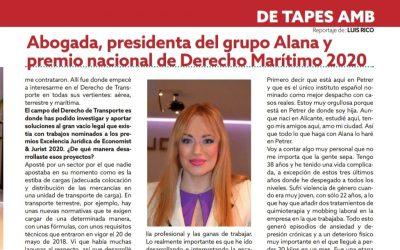 Entrevista Premio Nacional Derecho marítimo