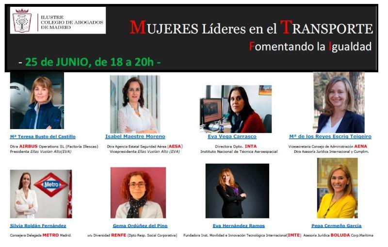"""Eva Hernández participa en el Congreso """"Mujeres líderes en transporte"""" (video)"""