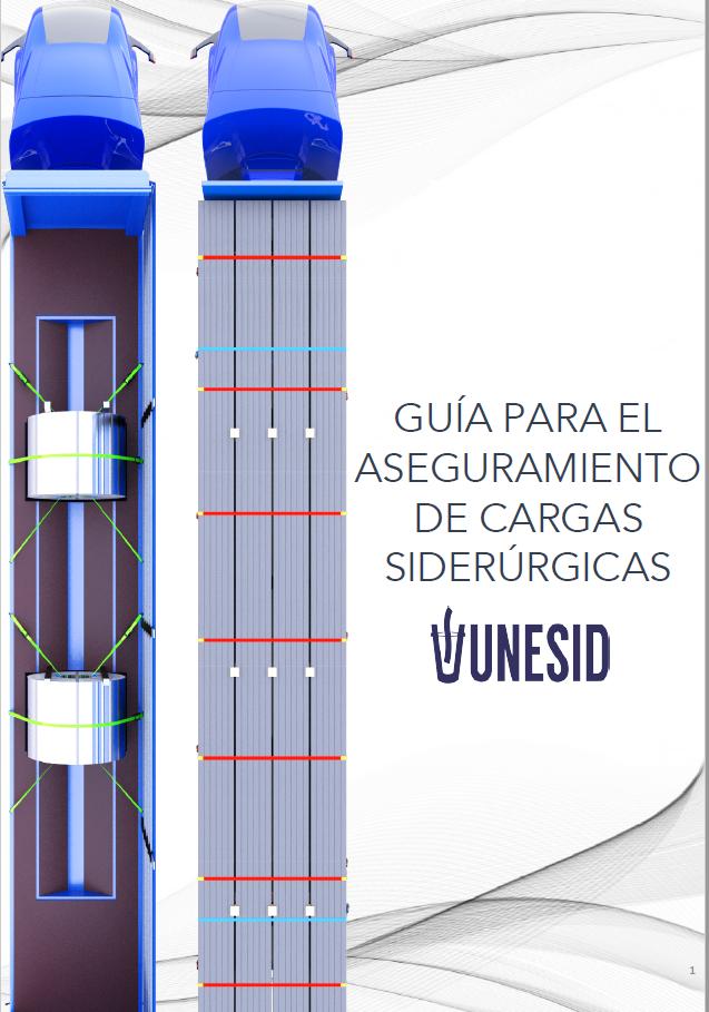 """Presentación """"Guía de aseguramiento de cargas siderúrgicas"""" realizada por iSEC y Unesid."""